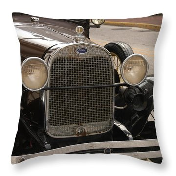 Ford Convertible 02 Throw Pillow