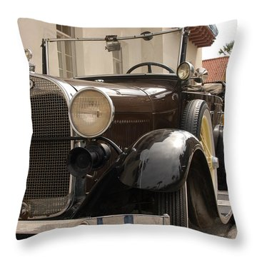 Ford Convertible 03 Throw Pillow