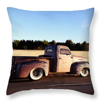There's Something 'bout A Truck Throw Pillow