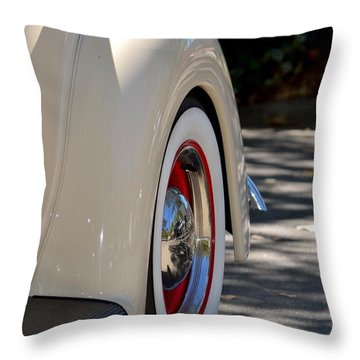 Ford Fender Throw Pillow