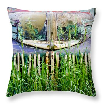 Ford Field Of Dreams Throw Pillow