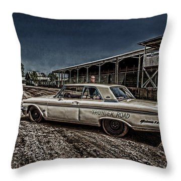 Ford Galaxie 500 4 Throw Pillow