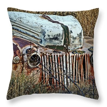 Ford Gets A Facelift Throw Pillow