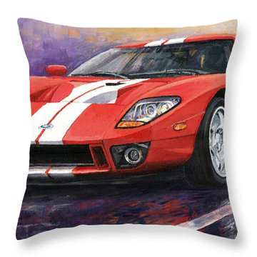 Ford Gt 2005 Throw Pillow