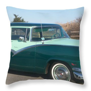 Ford Mercury Throw Pillow