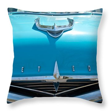 Ford Meteor Throw Pillow