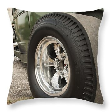 Ford Model A Hotrod Throw Pillow
