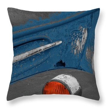 Throw Pillow featuring the photograph Ford No.2 by Randy Pollard