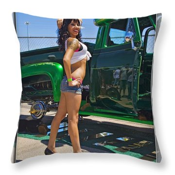 Ford Pick Up_a Throw Pillow
