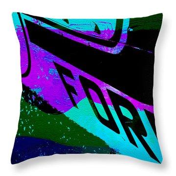 Ford Racing  Throw Pillow