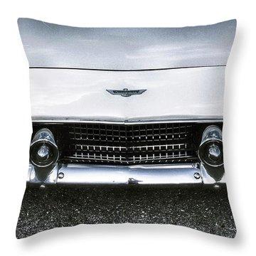 Ford Thunderbird Bw 2 Throw Pillow