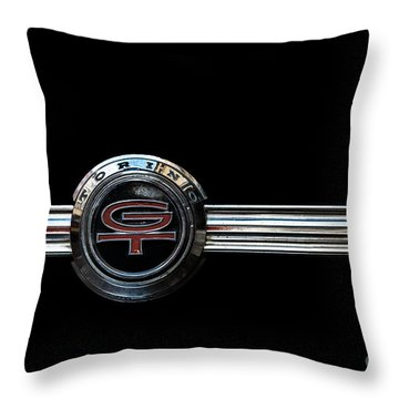 Ford Torino G.t.390 Throw Pillow