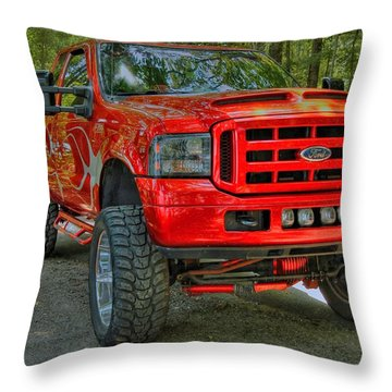 Ford Truck 02 Throw Pillow