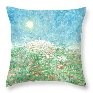 Forenza - Vista Campagna Throw Pillow