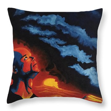 Foreseen Throw Pillow