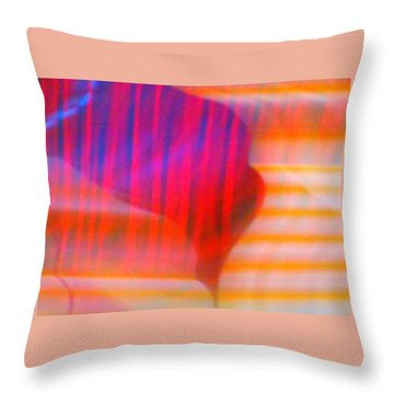 Forest On Venus Throw Pillow