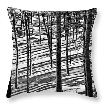 Forest's Shadows Throw Pillow by Yuri Santin