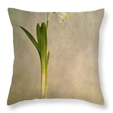 Foretaste Of Spring Throw Pillow