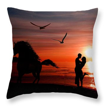 Forever And A Day Throw Pillow by EricaMaxine  Price