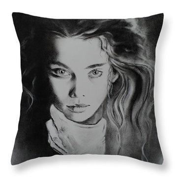 Forever And Ever Throw Pillow by Carla Carson