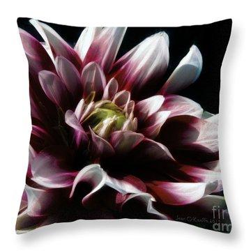 Forever Endeavor Throw Pillow by Jean OKeeffe Macro Abundance Art