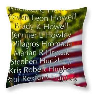 Forever Remembered Throw Pillow by Tom Gari Gallery-Three-Photography
