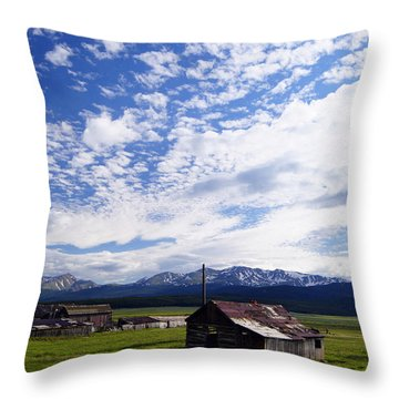 Forever Sky Throw Pillow by Jeremy Rhoades