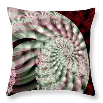 Forever Spiral Throw Pillow