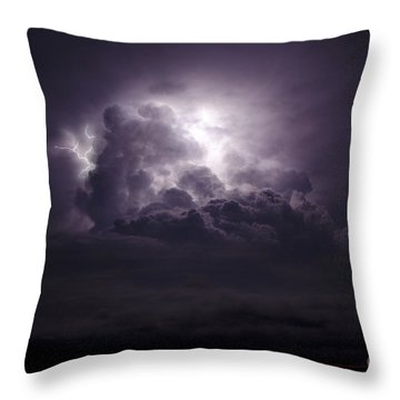 Forging The Heavens Throw Pillow