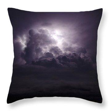 Forging The Heavens Throw Pillow