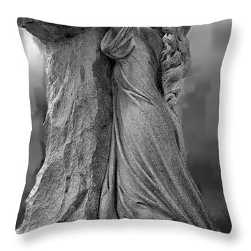 Throw Pillow featuring the photograph Forgiven by Randy Pollard