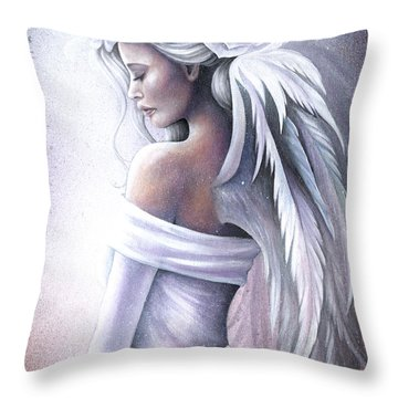 Forgiveness Throw Pillow by Jessica Galbreth
