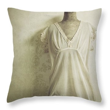 Throw Pillow featuring the photograph Forgotten Beauty by Amy Weiss