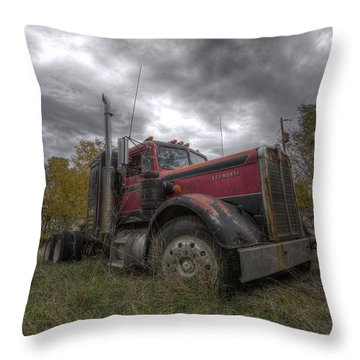Forgotten Big Rig 2014 V2 Throw Pillow