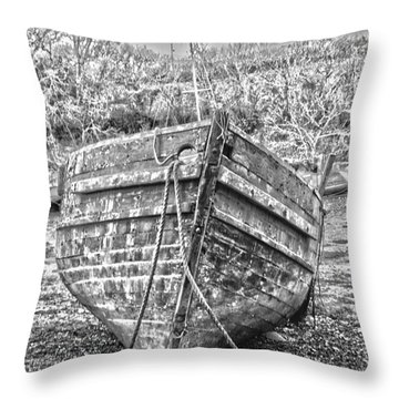 Forgotten Throw Pillow by Brian Roscorla