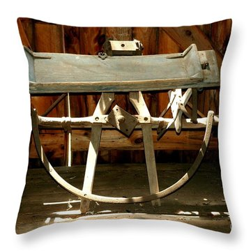 Throw Pillow featuring the photograph Forgotten by Christiane Hellner-OBrien