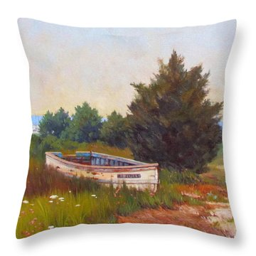 Forgotten Dory Throw Pillow by Dianne Panarelli Miller