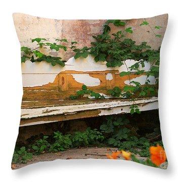 The Forgotten Garden Throw Pillow