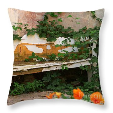 The Forgotten Garden Throw Pillow