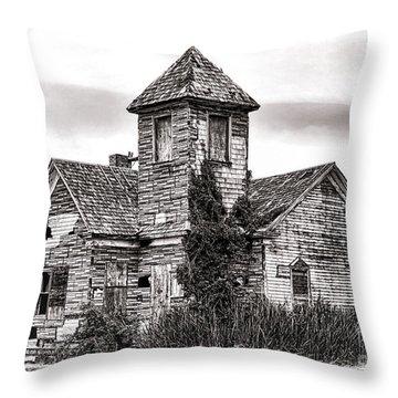 Forgotten In South Jersey Throw Pillow