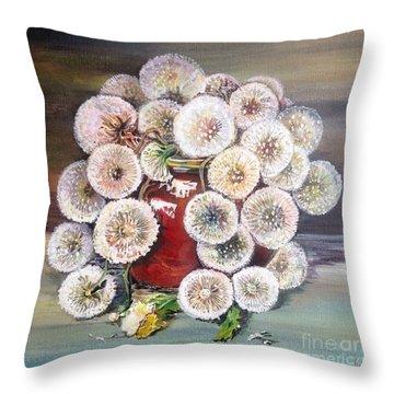 Forgotten Throw Pillow by Iya Carson