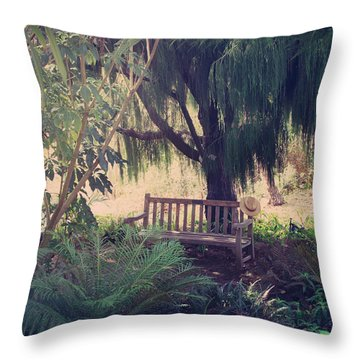 Forgotten.... Throw Pillow by Laurie Search