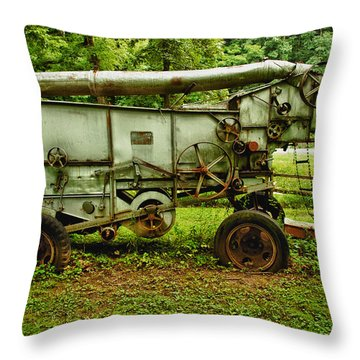 Forgotten Throw Pillow by Sebastian Musial
