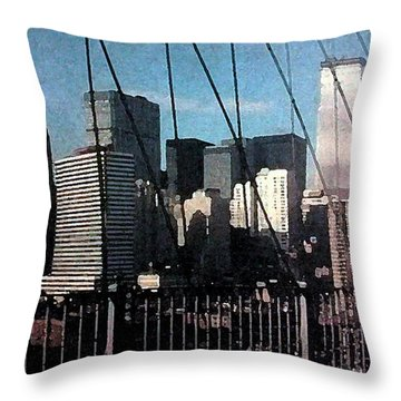 Forgotten View Throw Pillow by George Pedro