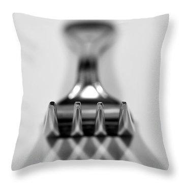 Fork Throw Pillow