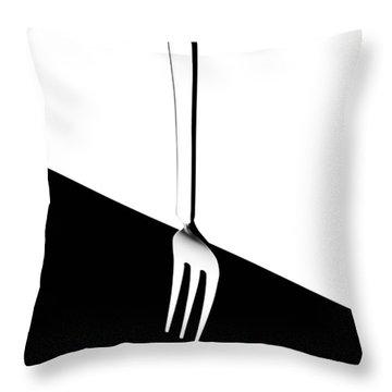Cutlery Throw Pillows