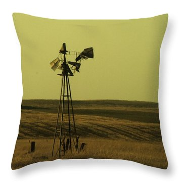 Forlorn Throw Pillow by Jeff Swan