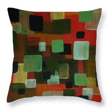 Forms Throw Pillow by Barbara St Jean
