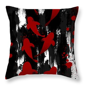 Formula Of Harmony Throw Pillow