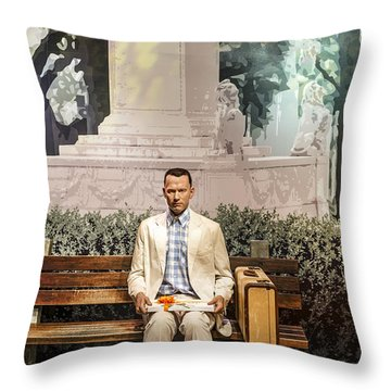 Forrest Gump Throw Pillow
